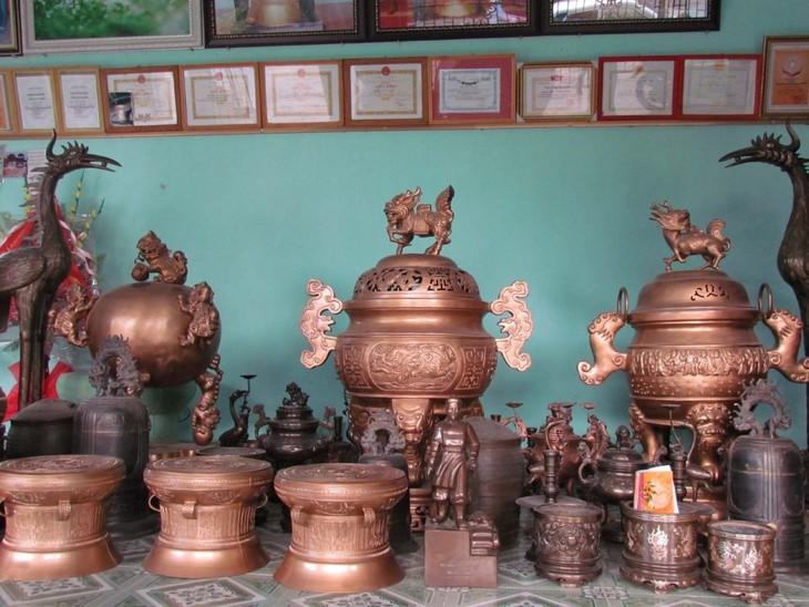Van Lam – Kembangkan Ekonomi dengan Kerajinan Tradisional - ảnh 1