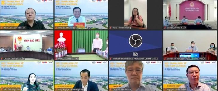 Seminario sobre perspectivas económicas de Vietnam y del delta del Mekong post pandemia - ảnh 1