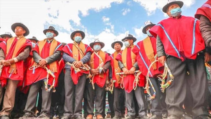 Movimientos sociales en Bolivia convocan marchas en defensa del Gobierno de Luis Arce - ảnh 1
