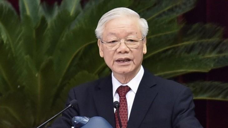 Vietnam promueve la construcción y la mejora del Partido Comunista - ảnh 1