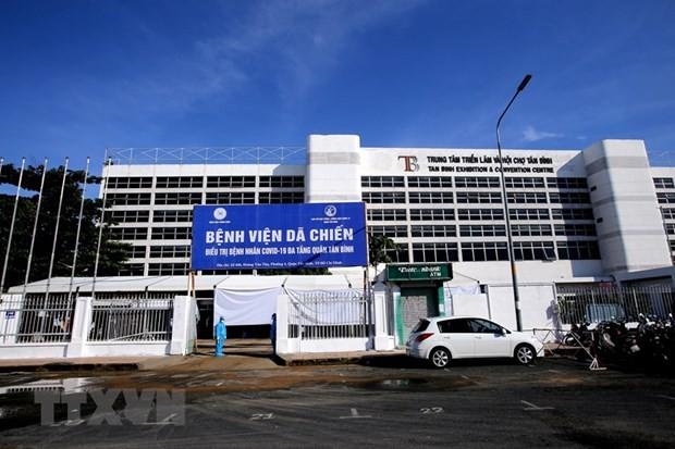 Ciudad Ho Chi Minh establece hospitales de tres niveles para el tratamiento de covid-19   - ảnh 1