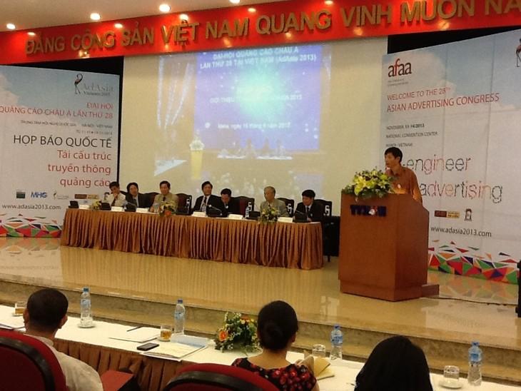 เวียดนามเป็นเจ้าภาพครั้งแรกในการจัดการประชุมโฆษณาเอเชียครั้งที่ 28 - ảnh 1