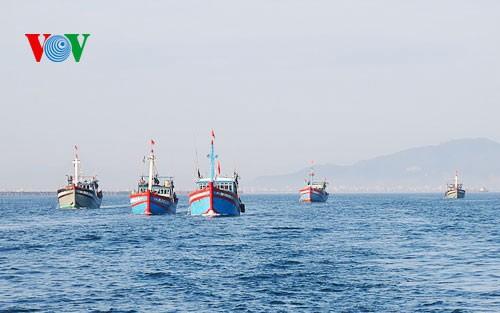 การประชาสัมพันธ์สัญจรเกี่ยวกับเขตชายแดน เกาะแก่งและทะเลเวียดนาม - ảnh 1
