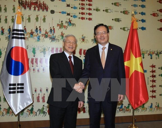 ประธานรัฐสภาสาธารณรัฐเกาหลีจะเยือนเวียดนามและฟิลิปปินส์ - ảnh 1