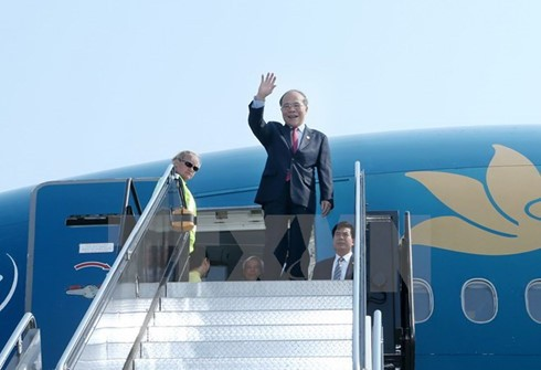 ประธานรัฐสภา เหงียนซิงหุ่ง จะเดินทางไปเยือนสันถวไมตรีประเทศจีนอย่างเป็นทางการ - ảnh 1