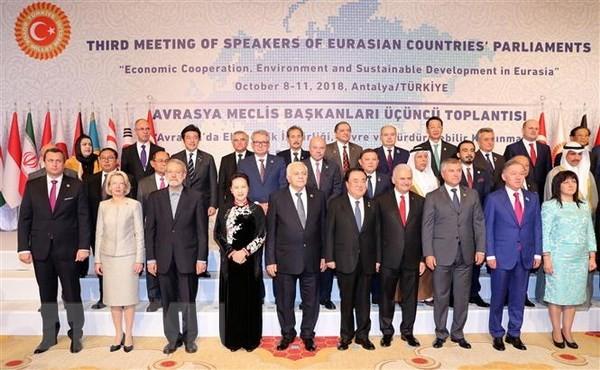 เปิดการประชุมประธานรัฐสภาเอเชีย ยุโรปครั้งที่ 3 - ảnh 1
