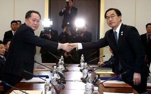 คาบสมุทรเกาหลีมีเสถียรภาพ: โอกาสเพื่อให้เศรษฐกิจสาธารณรัฐประชาธิปไตยประชาชนเกาหลีพัฒนา - ảnh 1