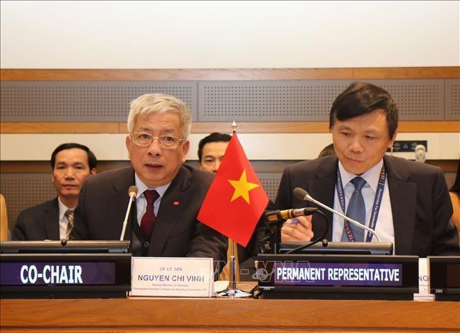 เวียดนามเรียกร้องให้ประชาคมโลกร่วมแรงร่วมใจแก้ไขผลร้ายจากสงครามเพื่อสันติภาพและการพัฒนาอย่างยั่งยืน - ảnh 1