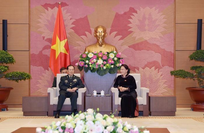 ผลักดันความร่วมมือด้านกลาโหมระหว่างเวียดนามกับจีน - ảnh 1