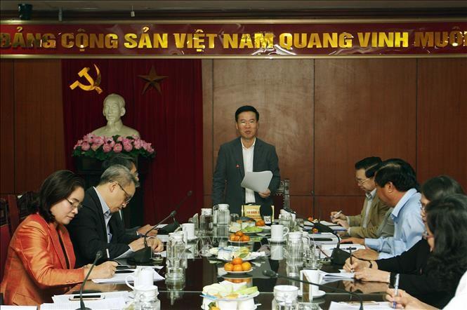 เตรียมพร้อมกิจกรรมต่างๆเป็นอย่างดีในโอกาสรำลึก 90 ปีวันก่อตั้งพรรคคอมมิวนิสต์เวียดนาม - ảnh 1