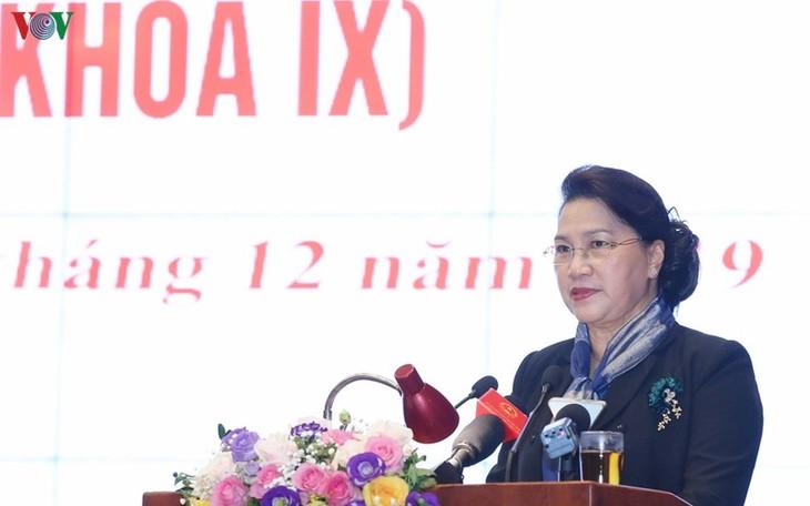 ประธานสภาแห่งชาติเข้าร่วมการประชุมแนวร่วมปิตุภูมิเวียดนามครั้งที่ ๒ สมัยที่ ๙ - ảnh 1
