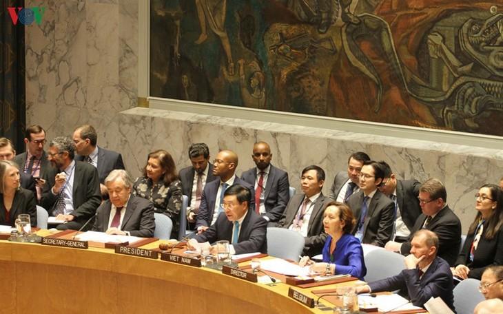 เวียดนามให้ความสนใจเป็นอันดับต้นๆต่อการปฏิบัติตามกฎบัตรสหประชาชาติ - ảnh 2