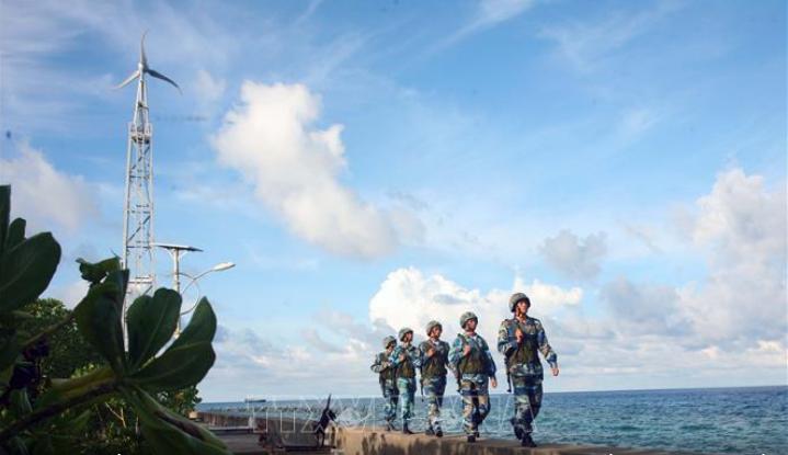รำลึกครบรอบ 45 ปีวันปลดปล่อยหมู่เกาะเจื่องซา29 เมษายน - ảnh 1
