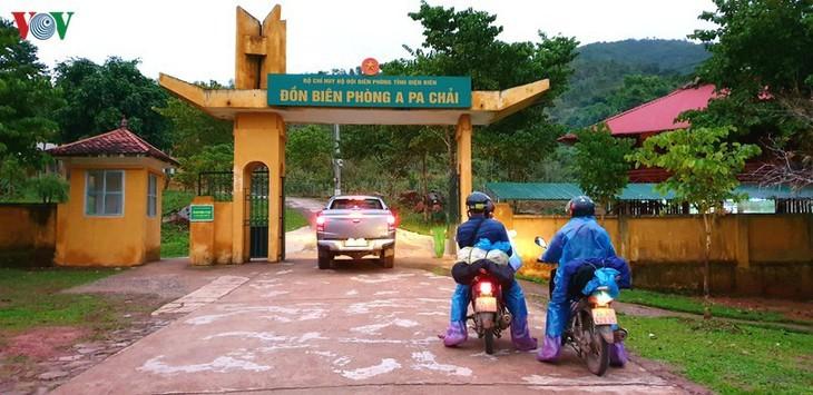 จุดตะวันตกสุด อาปาฉาย ไก่ขันได้ยินสามประเทศ เวียดนาม ลาว จีน - ảnh 8