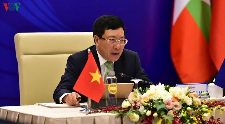 การประชุมสภาประชาคมการเมือง-ความมั่นคงอาเซียนครั้งที่ 21 - ảnh 1