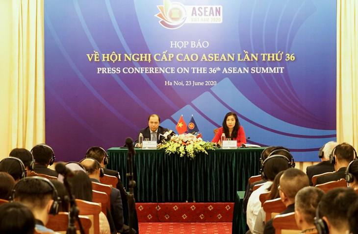 ประชามติเกี่ยวกับการประชุมผู้นำอาเซียนครั้งที่ 36 และการประชุมต่างๆที่เกี่ยวข้อง - ảnh 1