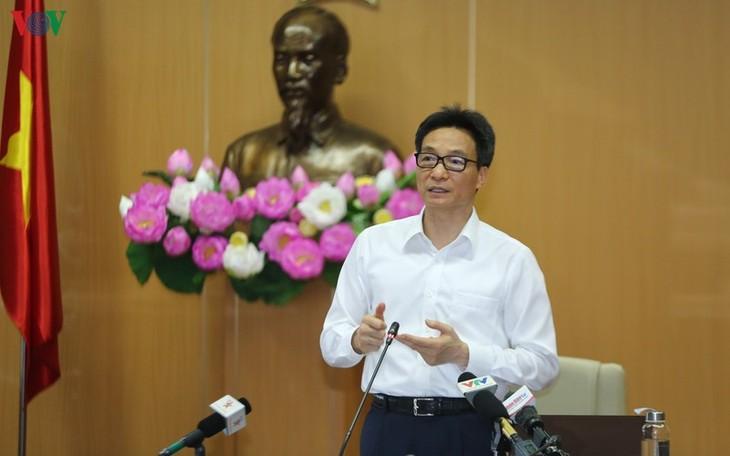 รองนายกรัฐมนตรี หวูดึ๊กดาม เผยว่า ถ้าไม่เปลี่ยนมาประยุกต์ใช้เทคโนโลยีดิจิทัลก็จะพ่ายแพ้ในการแข่งขันระหว่างประเทศ - ảnh 1
