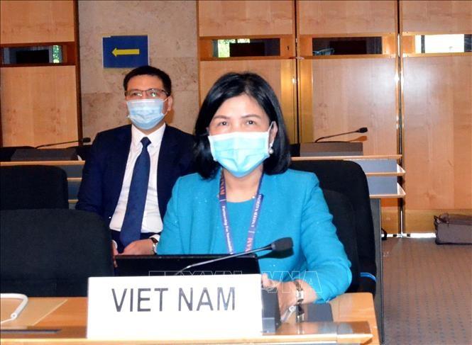 เวียดนามเข้าร่วมการจัดทำเอกสารฉบับต่างๆของการประชุมประจำปีครั้งที่ 77 สภาสิทธิมนุษยชนแห่งสหประชาชาติ - ảnh 1