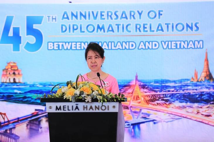 """เปิดงานมิตรภาพ """"หมู่บ้านมิตรภาพไทย-เวียดนามเพื่อการพัฒนาอย่างยั่งยืน"""" - ảnh 1"""