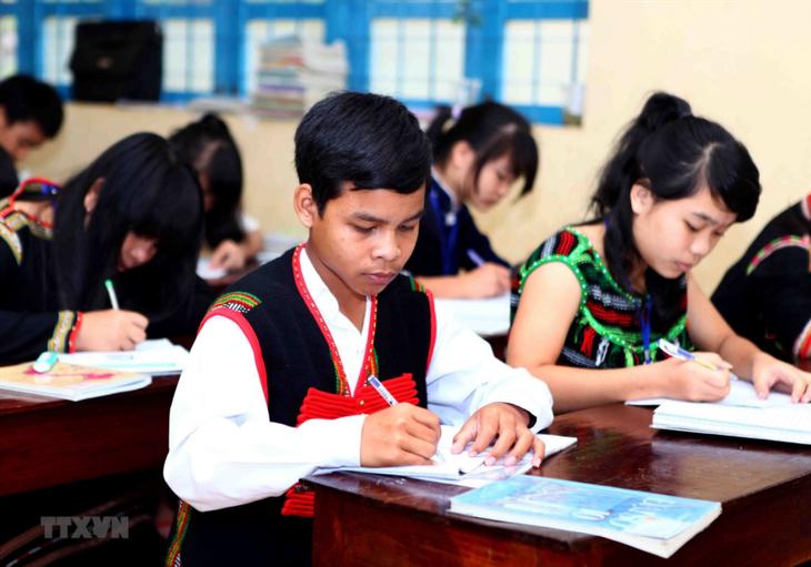 ประสิทธิผลของนโยบายลงทุนด้านการศึกษาในเขตเตยเงวียน - ảnh 1
