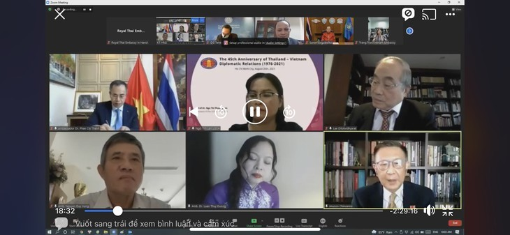 ประมวลความสัมพันธ์เวียดนาม-ไทยประจำเดือนสิงหาคมปี 2021 - ảnh 2