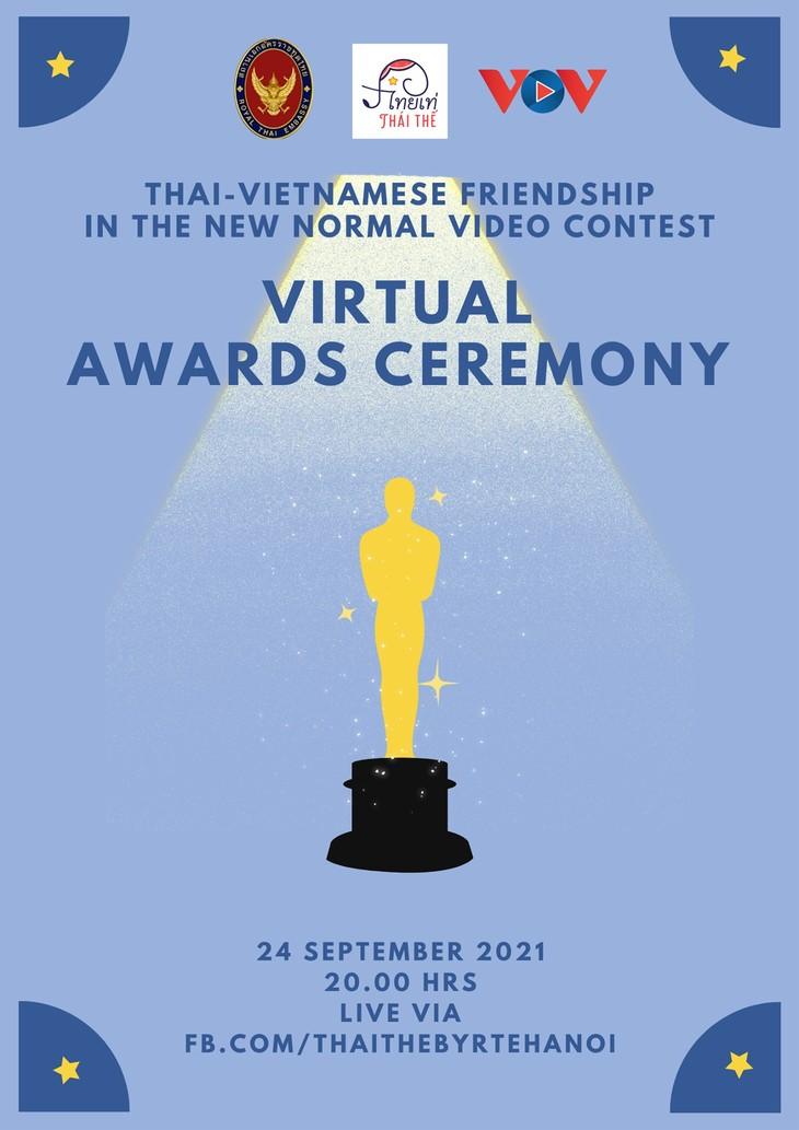 LIVE การประกวดคลิปวีดีทัศน์ Thai-Vietnamese Friendship in the New Normal Contest - ảnh 1