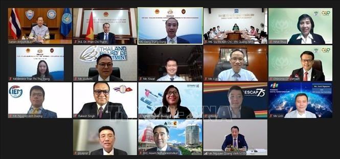 """การสัมมนาออนไลน์ """"ความร่วมมือด้านเศรษฐกิจเวียดนาม - ไทย"""" - ảnh 1"""