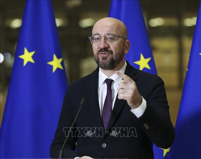 ผู้นำสหภาพยุโรปแสวงหาความสามัคคีเพื่อเสริมสร้างสถานะบนเวทีโลก - ảnh 1