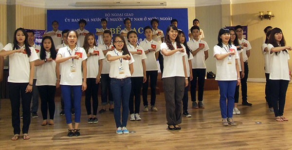 Summer camp for overseas Vietnamese youth concluded - ảnh 1