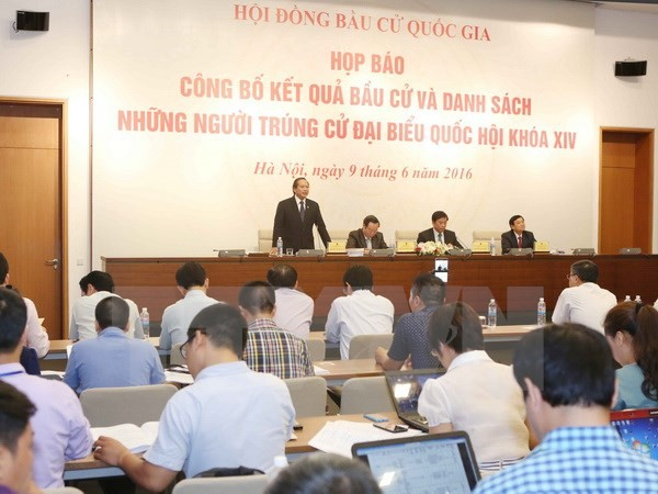 496 candidates elected to the 14th National Assembly - ảnh 1
