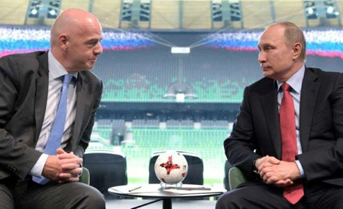 Russia ready to host 2017 FIFA Cups, 2018 World Cup - ảnh 1