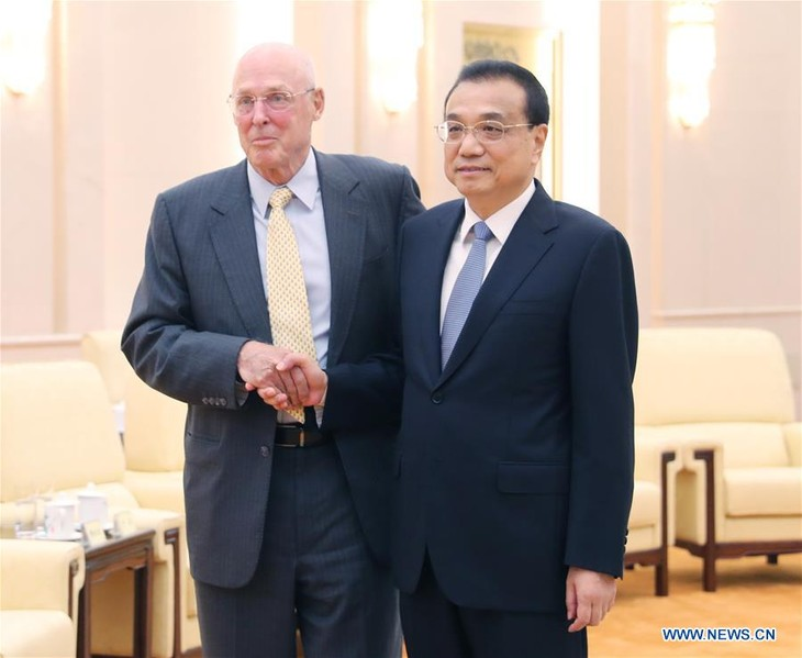 Chinese Premier calls on China, US to settle differences - ảnh 1