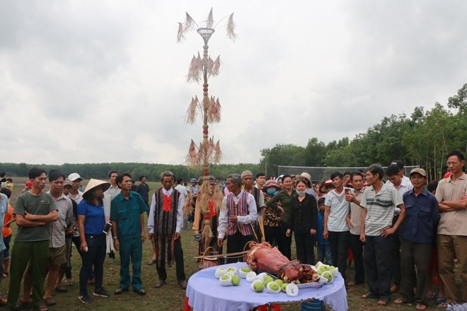 Khmer Pha Bau festival recognized as national intangible cultural heritage - ảnh 1