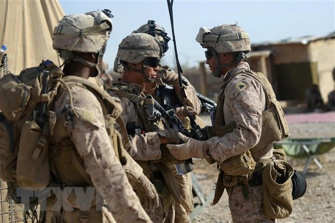 US to withdraw troops from Afghanistan by September 11 - ảnh 1