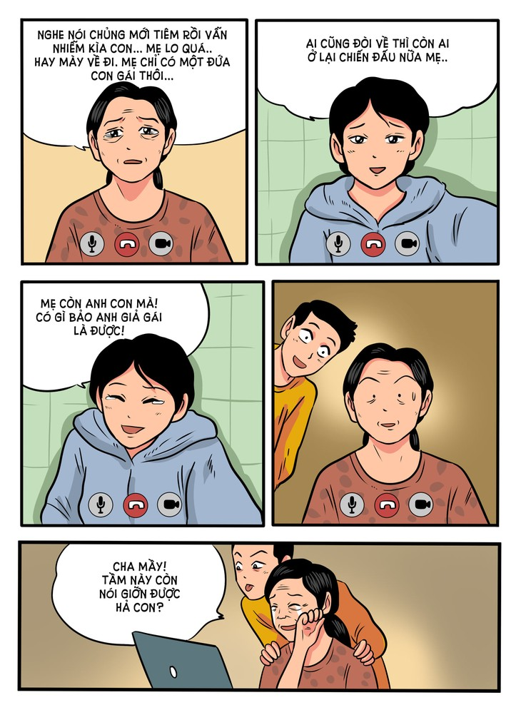 Thang Fly Comics tells semi-realistic stories of love and compassion amid COVID  - ảnh 6