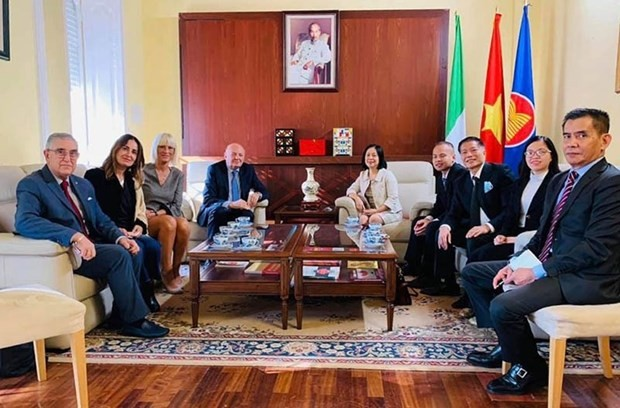 Italy wants to improve ties with Vietnam - ảnh 1