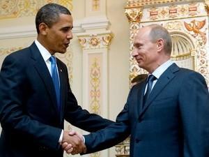 Obama und Putin wollen die Beziehungen fortführen - ảnh 1