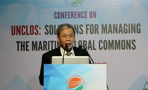Seminar in Indien: UNCLOS: Verwaltungsmaßnahmen für gemeinsame Meeresfrage - ảnh 1