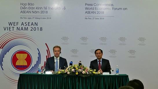 Das Weltwirtschaftsforum über die ASEAN 2018  - ảnh 1