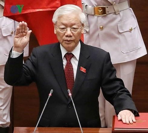 Staats-und Regierungschefs vieler Länder gratulieren KPV-Generalsekretär, Staatspräsident Nguyen Phu Trong - ảnh 1