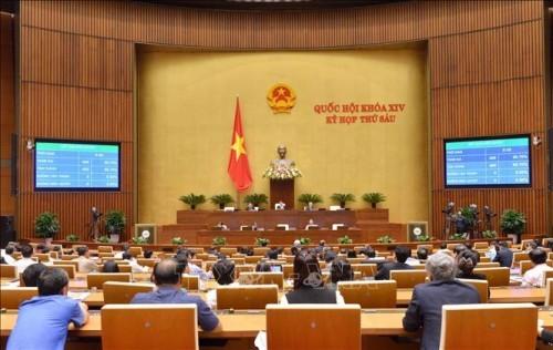 Parlament diskutiert über den geänderten Gesetzesentwurf zur Ergänzung des Gesetzes zur öffentlichen Investitionen - ảnh 1