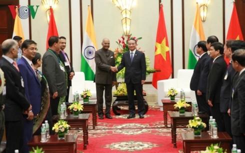 Aktivitäten des indischen Präsidenten Ram Nath Kovind in Da Nang - ảnh 1