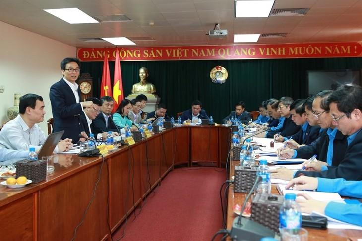 Vizepremierminister Vu Duc Dam tagt mit der vietnamesischen Arbeitsunion - ảnh 1