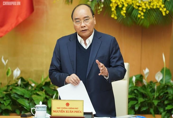 Premierminister Nguyen Xuan Phuc leitet Sondersitzung zum Gesetzgebung - ảnh 1