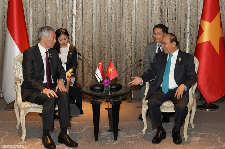 Premierminister Lee Hsien Loong: Singapur will Vietnam nicht beleidigen - ảnh 1