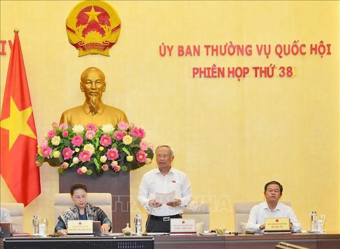 Abschluss der 38. Sitzung des Ständigen Parlamentsausschusses - ảnh 1