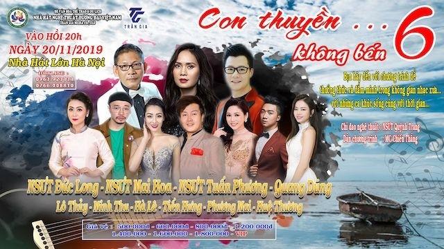 """Konzert für Vorkriegsmusik """"Boot ohne Hafen"""" in Hanoi - ảnh 1"""