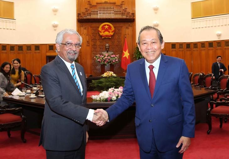 Die UNO ist eine der Prioritäten in vietnamesischer Außenpolitik - ảnh 1