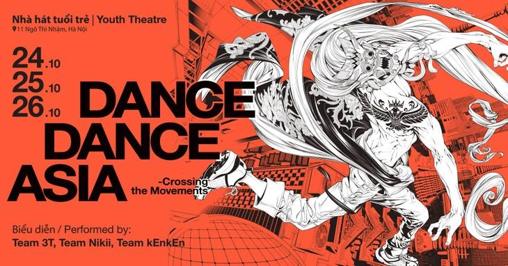 "Straßentanz ""Dance dance asia – Crossing the Movements 2019"" in Hanoi - ảnh 1"