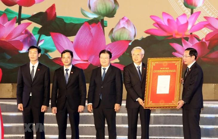 Hai Duong wird als First-Tier-Stadt anerkannt - ảnh 1